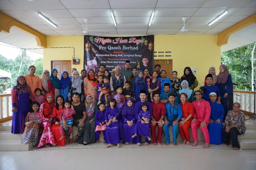Proqaseh's Hari Raya Celebration