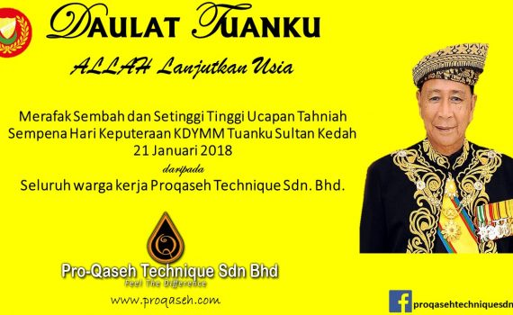 Keputeraan Sultan Kedah Proqaseh Technique Sdn Bhd